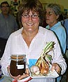 Jo Grant and her winning produce